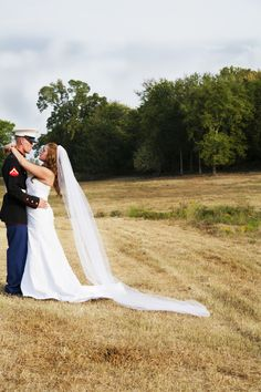 a Soldier and his Bride! a special kind of love