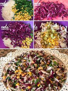Rengarenk Tavuk Salatası Tarifi nasıl yapılır? 2.072 kişinin defterindeki bu tarifin resimli anlatımı ve deneyenlerin fotoğrafları burada. Yazar: Funda Alımlı Ozer