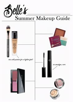 Belle's summer makeup guide
