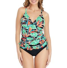 a02e87db54a60 Details about St. John's Bay Fauxkini One Piece Swimsuit Size 8, 10, 12,  14, 16, 18 Msrp $89