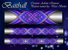 Baitball step by step Custom Rod Building Cross Wrap Pattern Facebook Page