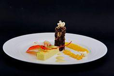 Дегустационно меню - лято 2014: Пленителна панакота от сладка царевица и канелони от раци очароват гостите на гурме ресторанта до Варна.