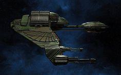Klingon Bird-of-Prey Retro B'Rel Class wallpaper 3 by Drzu @deviantART.com