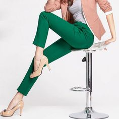 39b265f0c8 Women's Slim Stretch Pants Price: 39.00 & FREE Shipping #tryladys  Orange Pants,