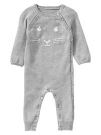 Peter Rabbit™ intarsia one-piece from the Peter Rabbit BabyGap collection