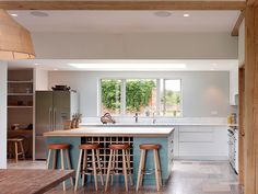 Mayfly Cottage | Kitchen design by modern architects Stiff and Trevillion