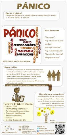 Infografía sobre el #panico #psicologia @gabinetedepsicl @SistemicaMente…