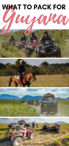 For an adventurous trip in Guyana, you need to make sure you pack as light as possible and still have everything you need. Here's what to pack for Guyana. Bolivia Travel, Brazil Travel, Argentina Travel, Peru Travel, Africa Travel, Packing List For Travel, Travel Tips, Packing Lists, Travel Ideas