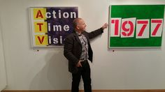 '1977' - Punk ~ The Transatlantic Paintings - Nov 7 - Nov 17 at The Gallery Liverpool ~ Chris Billington #artofpunk #art #punk