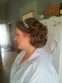 Bridal hair by Ann.  www.belladolchesalonspa.com