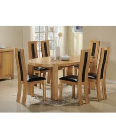 Wexford Oak   Walnut Dining Table   6 Rustic Red Faux Leather ChairsMark Driver  driver0862  on Pinterest. Dining Table And 6 Red Leather Chairs. Home Design Ideas