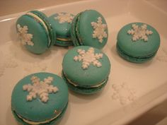 Makronky s vločkou Cake, Desserts, Food, Tailgate Desserts, Deserts, Kuchen, Essen, Postres, Meals