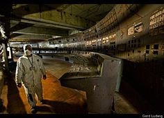 At am on April the Chernobyl Nuclear Power Plant operators committed a fatal series of errors here in the control room of Reactor triggering a meltdown and an explosion that resulted in the world's largest nuclear accident to date. Chernobyl Today, Chernobyl 1986, Chernobyl Disaster, Nagasaki, Hiroshima, Chernobyl Nuclear Power Plant, Nuclear Energy, Fukushima, Abandoned Buildings