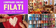 Dove comprare online e risparmiare su filati per uncinetto, maglia e ricamo