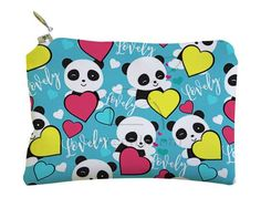 Portachiavi Portamonete Lovely panda