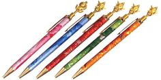 official sailor moon transformation pens! http://www.moonkitty.net/reviews-buy-sailor-moon-stationary-books-bags.php #SailorMoon