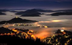 Banska Stiavnica Bratislava, Capital City, Slovenia, Art Photography, Paradise, Romantic, Mountains, Sunset, Country