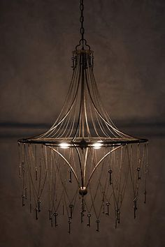Etched amber chandelier bulb chandeliers lights and ceilings skeleton key chandelier anthropologie four light sockets mozeypictures Images
