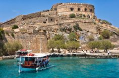 Spinalonga - former leper colony. Beautiful island, fascinating history.  Love to explore someday.