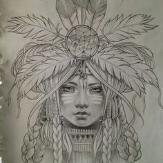 For my native american background