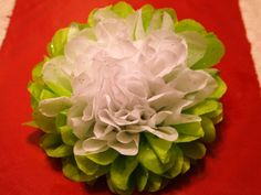large tissue paper flowers how to make | How to Make Tissue Paper Flowers | Craft Ideas