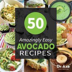 Easy Avocado Recipes Title