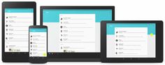 This is what Android L's Material Design looks like across mobile and desktop click here:  http://infobucketapps.com