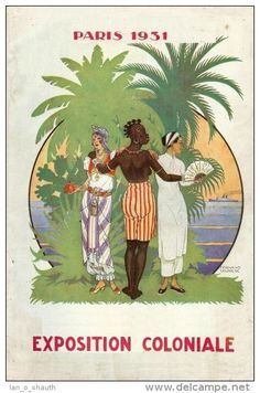 Poster Ads, Advertising Poster, French History, Black History, Human Zoo, African Image, France Eiffel Tower, Colonial Art, Reproduction