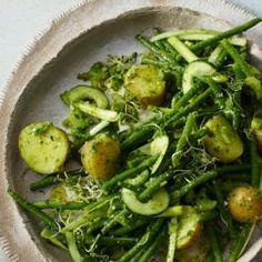 salade pommes de terre haricots verts thon potatoes pinterest food. Black Bedroom Furniture Sets. Home Design Ideas