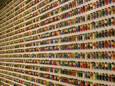 the amazing wall of lego people
