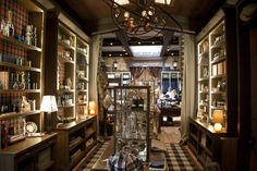 Legendary luxury supplier Holland & Sherry opens its first-ever retail store—and nails it.