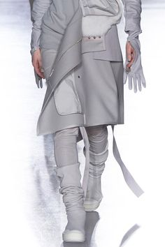 XXl Century. The Future is Now! Rick Owens at Paris Fashion Week Fall 2014
