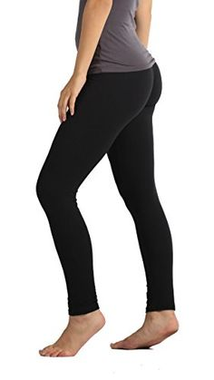 5059383b610a7 Premium Ultra Soft Leggings High Waist - Regular and Plus Size - 15 Colors  by Conceited at Amazon Women's Clothing store: