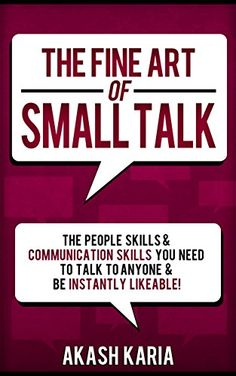 The Fine Art of Small Talk: The Peopl... $0.99 #bestseller