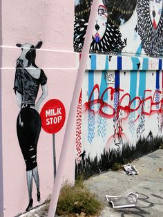 Milk Stop.   | Street Art SF