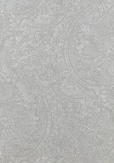 REGENCY, Metallic Silver, T7698, Collection Damask Resource 3 from Thibaut
