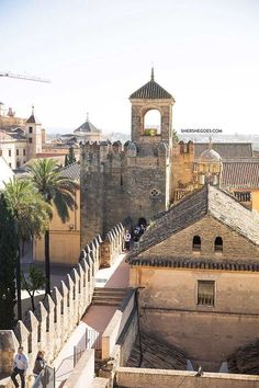All the best sights to see during your visit to Cordoba. A spain itinerary. Click through to read more