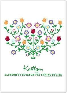 Blossoming Spring - Easter Cards in White | Magnolia Press