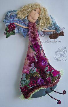 Коллекционные куклы ручной работы. Ярмарка Мастеров - ручная работа благодатная с виноградом:). Handmade.
