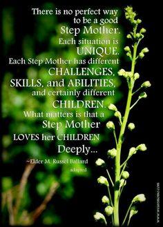 Each stepmother...