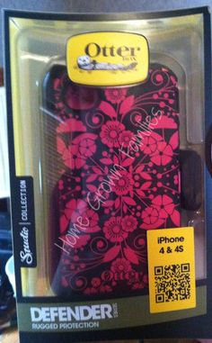 Home Grown Families: Otter Box~ The best insurance you can get