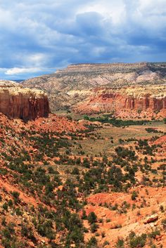 Ghost Ranch, New Mexico - The home and studio of Georgia O'Keeffe and the landscape that influenced her paintings.