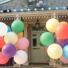 I love these beautiful big round balloons! Big Round Balloons, Giant Balloons, Bubblegum Balloons, Pastel Balloons, Perfect Party, Bubble Gum, Easter Eggs, My Love, Birthday