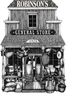 Robinson's General Store - Dorset, Ontario  Celebrated their 90th anniversary last year and they're still owned and run by the same family! Come by boat, car or float-plane.