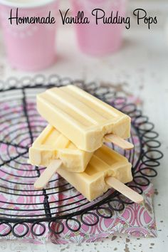 Vanilla Pudding Pops by Deliciously Organic. #paleo
