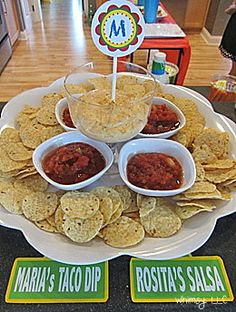 Because it's not a party in this family if there isn't taco dip! Second Birthday Ideas, Baby Boy 1st Birthday, Elmo Birthday, First Birthday Parties, Sesame Street Party, Sesame Street Birthday, Sesame Street Food, Cookie Monster Party, Elmo Party