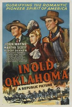 posters john wayne I Married a Woman Old Movie Posters, Classic Movie Posters, Movie Poster Art, Old Movies, Vintage Movies, Oklahoma Movie, Iowa, Old Western Movies, Republic Pictures