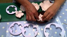 Peony Tutorial by Le Beau Cake using our easy to use cutters available to buy at www.lebeaucake.com see our other brilliant products on 'YouTube' at Le Beau ...