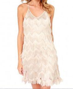 Tassels Backless Dress