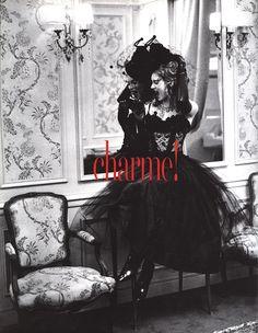 Vogue Italia September 1992, Kate Moss by Ellen Von Unwerth  http://www.vogue.it/